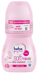 bebe Young Care Soft & Lovely Alumíniummentes Deo