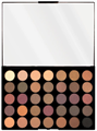 MakeUp Revolution Pro HD Amplified 35 Luxe Paletta