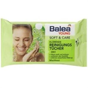 Balea Young Soft+Care 3in1 Arctisztító Kendő Vegyes Bőrre