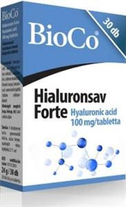 BioCo Hyaluronsav Forte Tabletta