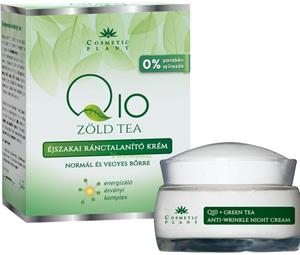 Cosmetic Plant Q10 és Zöld Tea Éjszakai Ránctalanító Krém