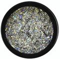 Crystal Nails Galaxy Holo Króm Pigmentpor
