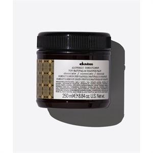 Davines Alchemic Chocolate Conditioner, Színező, Színfrissítő Kondícionáló - Meleg Barna Árnyalat