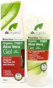 dr. Organic Aloe Vera Gél Teafa Olajjal és Árnikával