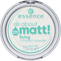 Essence All About Matt! Fixing Compact Púder Vízálló