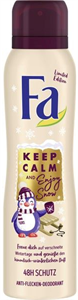 Fa Keep Calm And Enjoy Snow Deo Spray