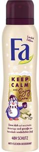 Fa Keep Calm And Enjoy Snow Deo Spray