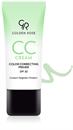 Golden Rose CC Cream Color Correcting Primer - Green