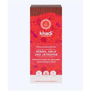 Khadi Növényi Hajfesték Por - Vörös