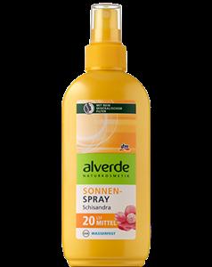 Alverde Schisandra Napozó Spray LSF20