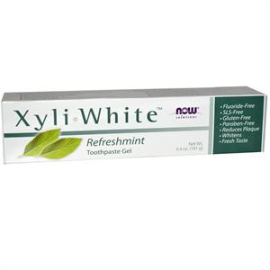 Now Foods Xyli-White Fogkrém Frissítő Menta