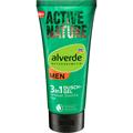 Alverde Men Active Nature 3in1 Tusfürdő Testre, Arcra és Hajra