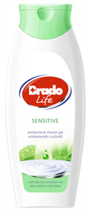 BradoLife Sensitive Antibakteriális Tusfürdő