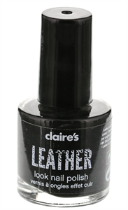 Claire's Leather Effect Nail Polish
