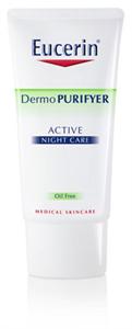 Eucerin DermoPurifyer Aktív Éjszakai Arcápoló