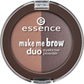 Essence Make Me Brow Duo Szemöldökformázó Por