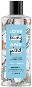 Love Beauty and Planet Tusfürdő Kókuszvízzel & Mimóza Virág Illattal