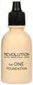 MakeUp Revolution The One Folyékony Alapozó