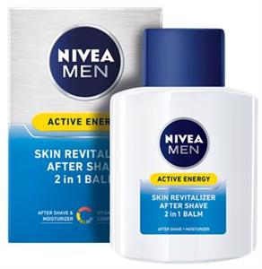 Nivea Men Active Energy 2 az 1-Ben Borotválkozás Utáni Balzsam