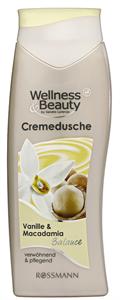 Wellness&Beauty Vaníliás és Makadámdiós Tusfürdő