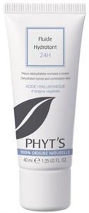 Phyt's Fluide Hydratant Könnyű 24 Órás Hidratáló Krém Hialuronsavval