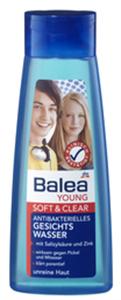 Balea Young Soft+Clear Antibakteriális Arctisztító Tonik