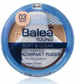Balea Young Soft&Clear Mattító Kompakt Púder
