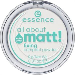 Essence All About Matt! Fixing Compact Púder Vízálló