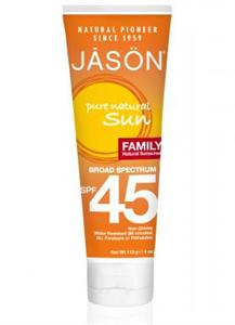 Jasön Family Sunscreen Broad Spectrum SPF45