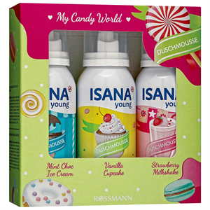 Isana Young My Candy World Duschmousse
