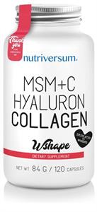 Nutriversum Msm+C Hyaluron Collagen Wshape