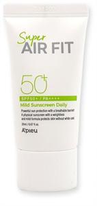 A'PIEU Super Air Fit Mild Sunscreen Daily