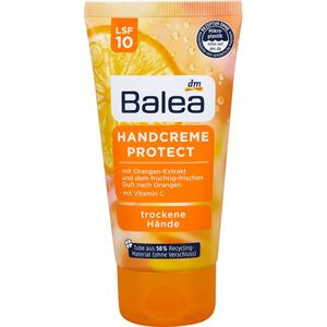 Balea Bőrvédő Kézkrém Narancskivonattal és C-Vitaminnal, Száraz Bőrre