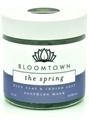 Bloomtown The Spring Kék Agyag + Indigó Nyugtató Arcmaszk