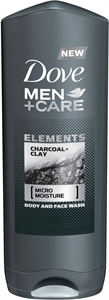 Dove Men+Care Elements Charcoal + Clay Tusfürdő