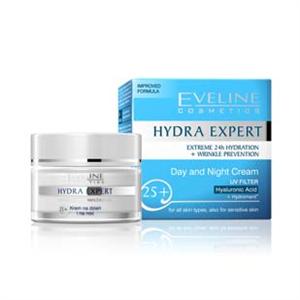 Eveline Hydra Expert 25+ Nappali és Éjszakai Krém