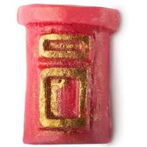 Lush Santa's Postbox Szappan