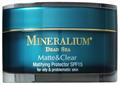 Mineralium Matte & Clear Hidratáló Arckrém UV Védelemmel