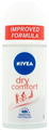Nivea Dry Comfort Golyós Dezodor Improved Formula