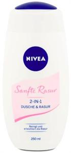 Nivea Sanfte Rasur Tusfürdő és Borotvagél 2In1