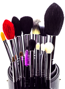 Blank Canvas Cosmetics Pro Deluxe Brush Set (18 Pieces)