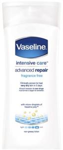 Vaseline Intensive Care Advanced Repair Fragrance Free Lotion