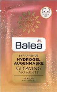 Balea Glowing Moments Bőrfeszesítő Hidrogélmaszk Szemkörnyékre Koffeinnel és Hialuronnal