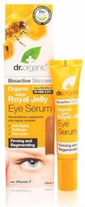 dr. Organic Royal Jelly Bio Méhpempő Szemkörnyék Ápoló Szérum