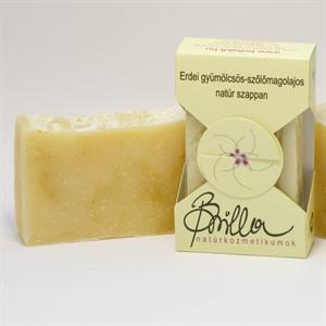 Brilla Erdei-Gyümölcsös Szőlőmagolajos Natúr Szappan