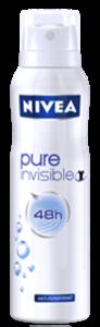 Nivea Pure Invisible Deo Spray