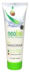 Neobio Soft Kézkrém Bio Aloe Verával és Olívaolajjal