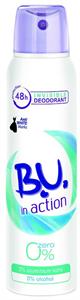 B.U. In Action Zero 0% Dezodor Spray