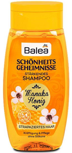 Balea Schönheitsgeheimnisse Hajerősítő Sampon Manukamézzel