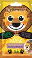 Bielenda Crazy Mask Regeneráló Hatású Fátyolmaszk (Oroszlán)